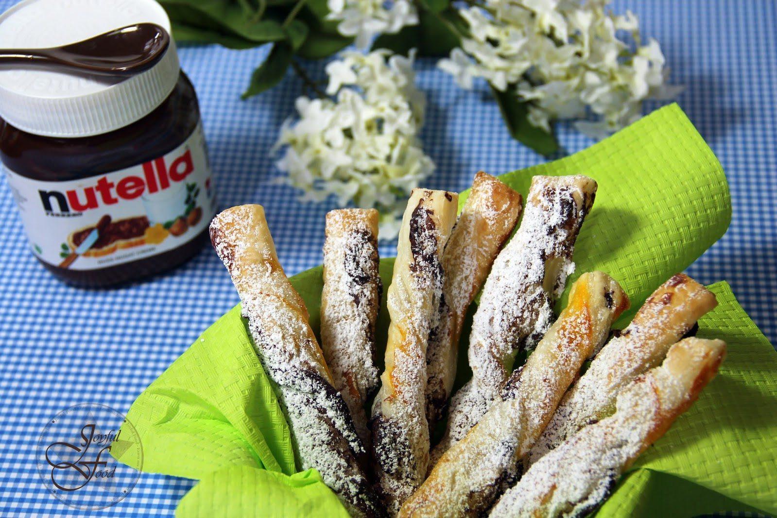 Nutella Sticks Super Schnell Und Knusprig Joyful Food