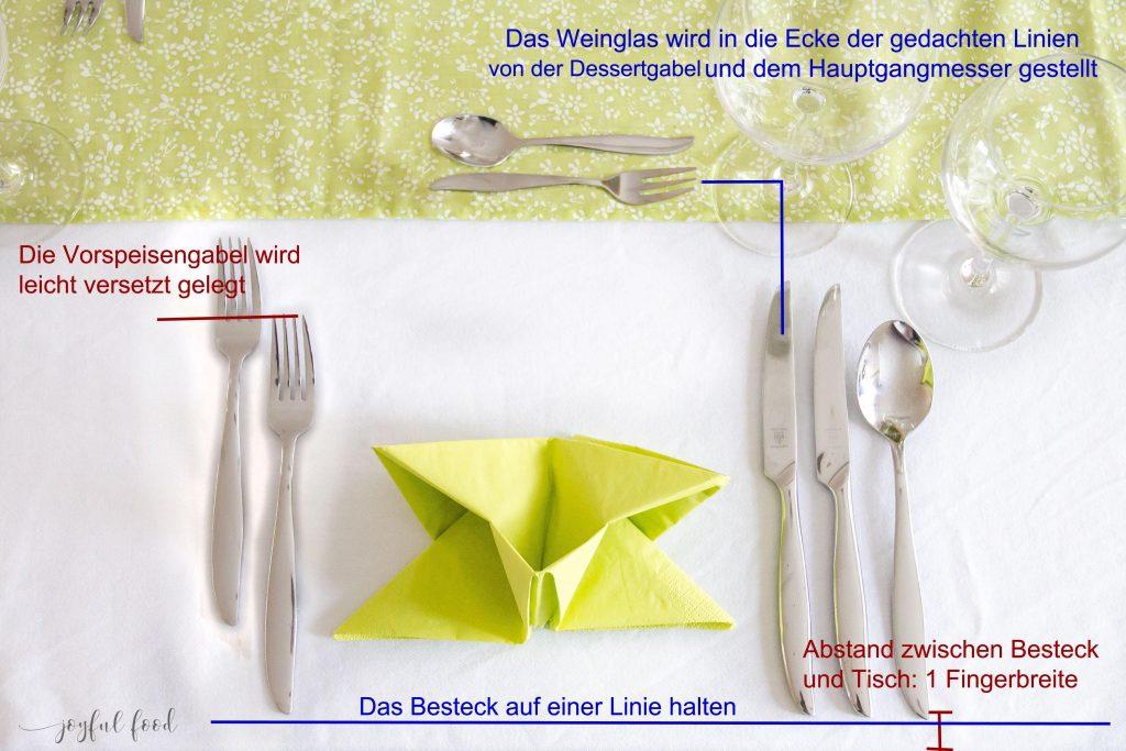 Den Tisch Richtig Decken Tutorial Joyful Food