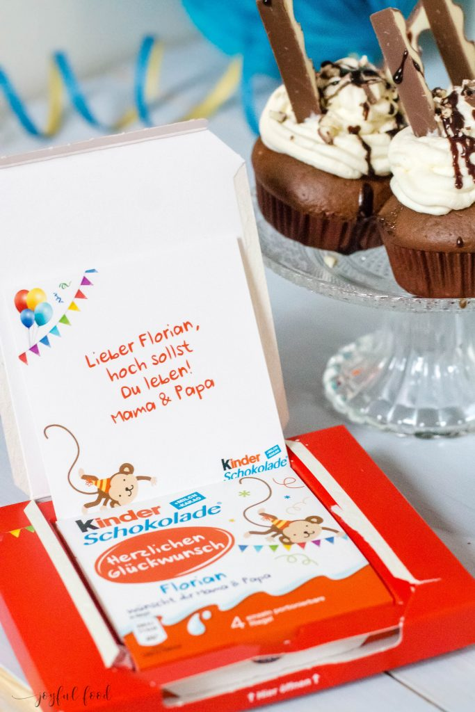 Ferrero Kinder Schokolade Muffins Unwiderstehlich Lecker Joyful Food