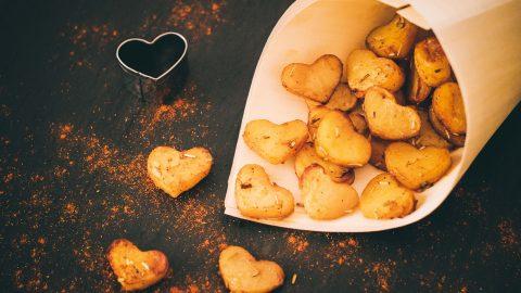 Kartoffelherzen – herrlich herzhaft zum Valentinstag