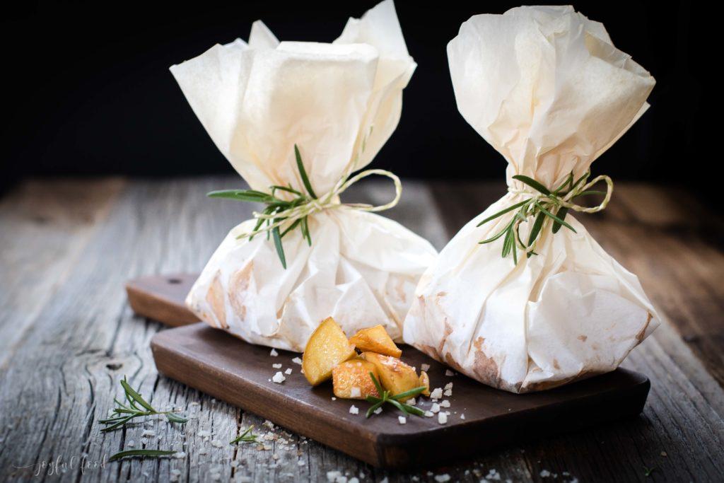 Einfache Kartoffelpäckchen für Grill und Ofen mit SONNENTOR - Joyful Food