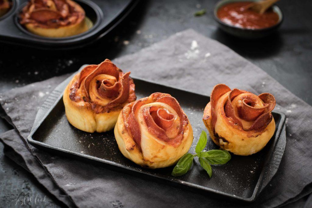 Pizza Muffin Schnecken - schnell, einfach, lecker!
